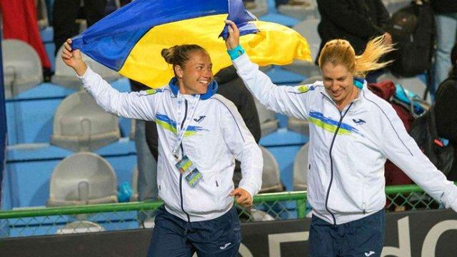 Українська жіноча збірна з тенісу піднялась у топ-20 найкращих команд світу