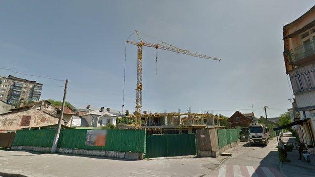 ДАБІ зупинила будівництво житлового будинку на вул. Городоцькій у Львові
