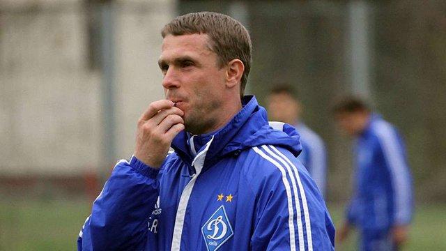 Сергій Ребров зіграв у товариському матчі за московський «Спартак»