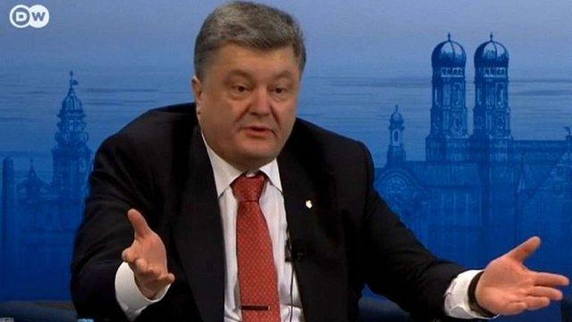 Порошенко: Путін намагається створити альтернативну Європу з агресією і нетерпимістю