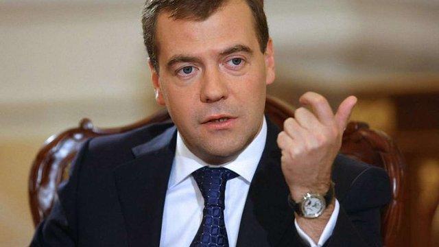 Медведєв звинуватив Захід у скочуванні до «холодної війни» з Росією