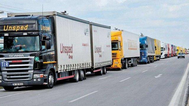 Україна заборонила російським вантажівкам транзит товарів до ЄС