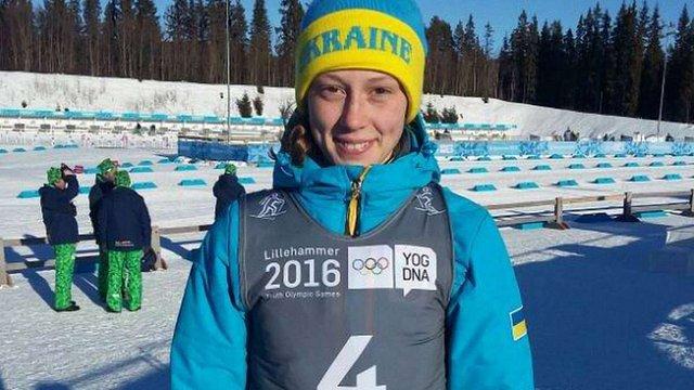 Українська біатлоністка стала чемпіонкою Юнацьких Олімпійських ігор