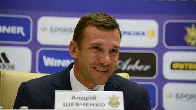 Андрій Шевченко повернувся до збірної України