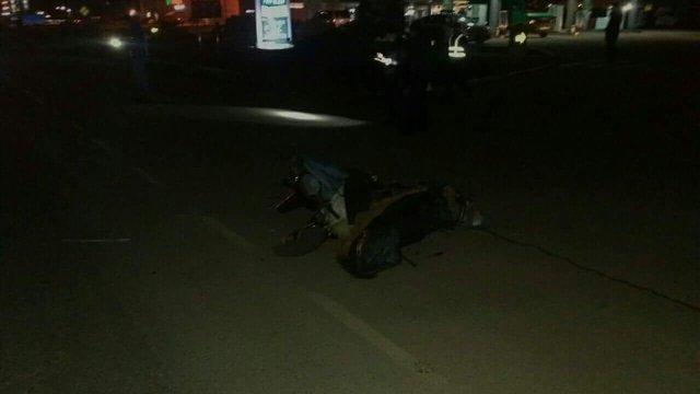 В Мукачеві патрульні поліцейські збили скутериста