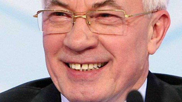 Азаров підтримав окупацію Росією Криму
