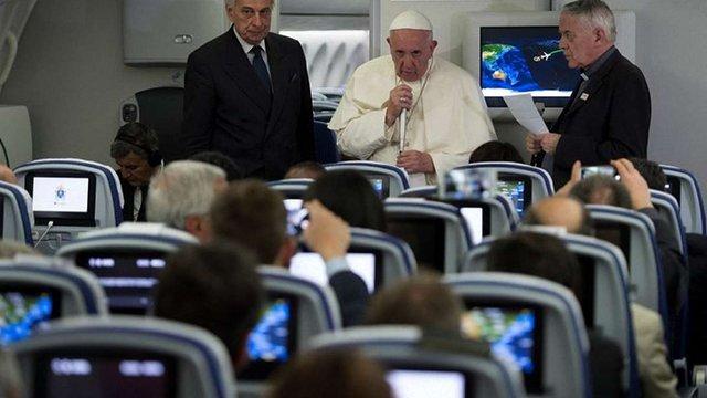 Папа Римський прокоментував інтерв'ю глави УГКЦ