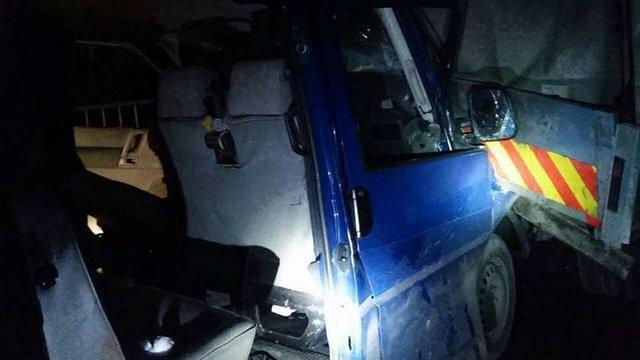 Водія мікроавтобуса, у якому потрапили в ДТП члени «Правого сектора», прооперують