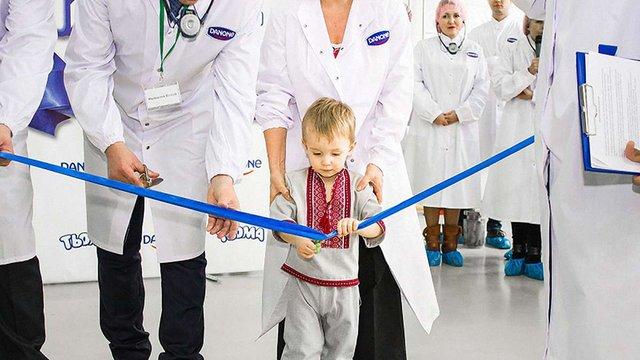 Компанія «Данон» запустила потужне виробництво дитячого молочного харчування «Тьома» в Україні