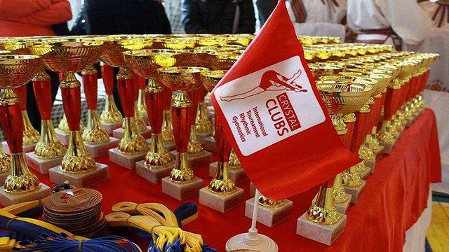 Львівські дівчата лідирують на Міжнародному турнірі з художньої гімнастики