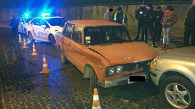 У Львові п`яний автозлодій скоїв два ДТП на краденому автомобілі
