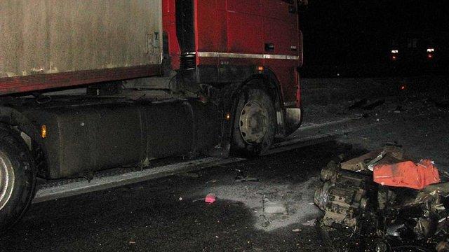 На трасі Київ-Одеса перекинувся автобус: троє загиблих