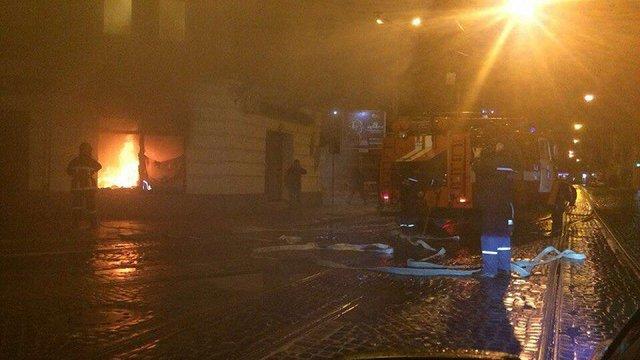 У Львові підпалили «Сбербанк Росії» та «ВТБ Банк»