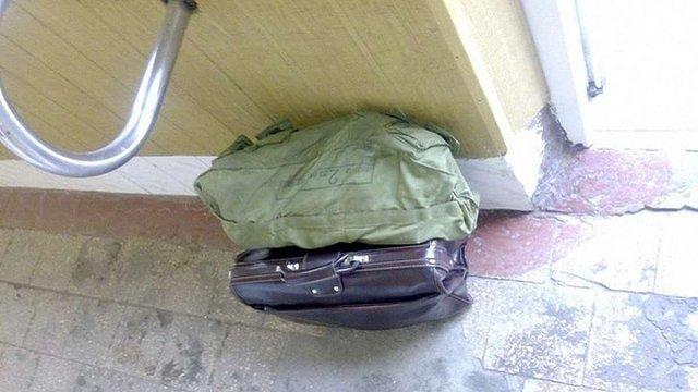 Вибухотехніки перевіряли підозрілий портфель у львівській військовій частині