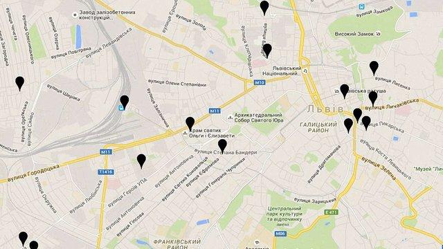 У Львові створили «чорну карту» крамниць і ресторанів з російською попсою