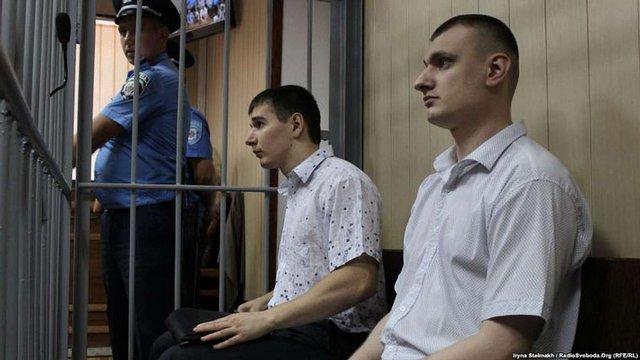 Прокуратура заявила в суді додаткове звинувачення проти «беркутівців» Зінченка і Аброськіна