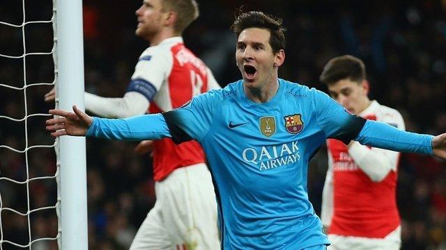 Ліга чемпіонів: «Барселона» перемогла «Арсенал», «Ювентус» вирвав нічию у «Баварії»