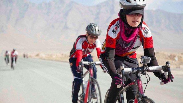 Жіночу збірну Афганістану з велоспорту висунули на Нобелівську премію миру