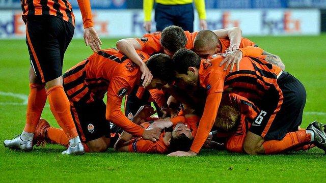 Донецький «Шахтар» вийшов в 1/8 фіналу Ліги Європи