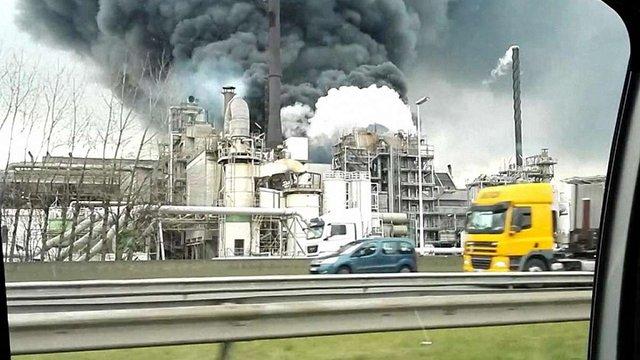 У порту на півночі Бельгії прогримів потужний вибух