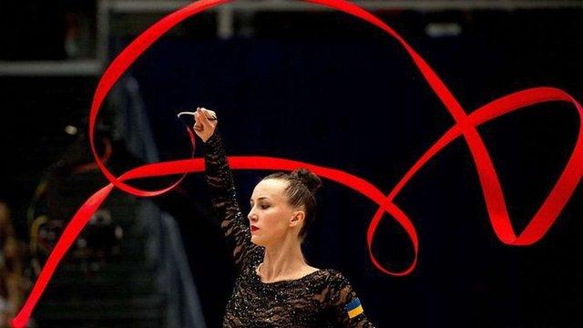 Українська гімнастка виграла дві золоті медалі на етапі Кубку світу