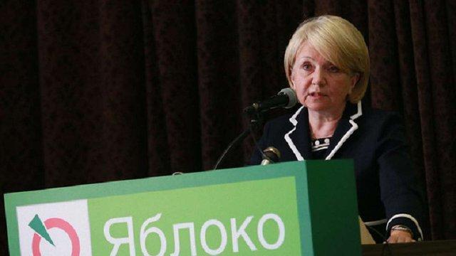 Лідер російської ліберальної партії «Яблоко» заявила, що не віддасть Крим Україні