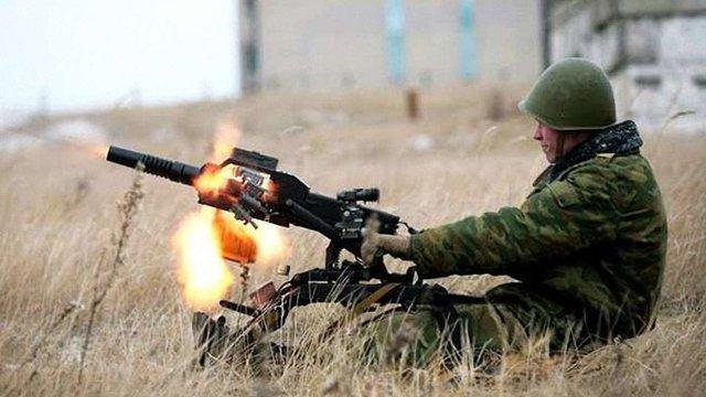 Бойовики за добу 54 рази обстріляли позиції сил АТО