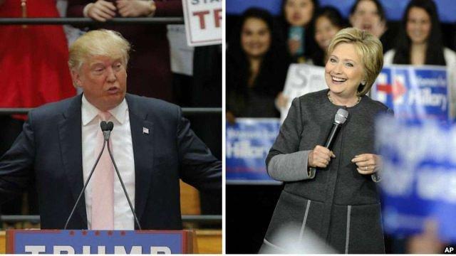 Клінтон і Трамп перемогли на праймеріз «супервівторка»
