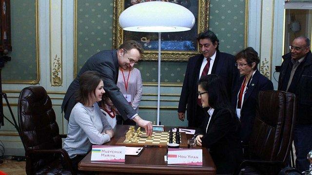У Львові розпочався матч за звання чемпіонки світу з шахів
