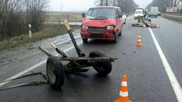 На трасі Львів – Рава-Руська трапилася ДТП з вини п'яного фірмана