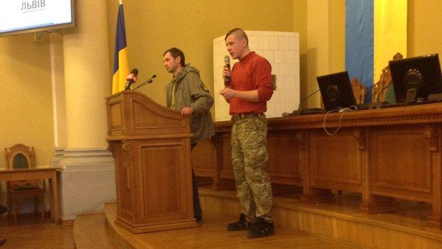 Юрій Досяк погодився бути заступником керівника львівського центру для бійців АТО