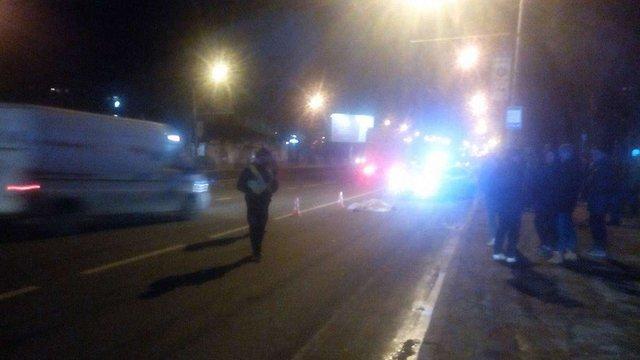 У Львові позашляховик збив насмерть 40-річну жінку