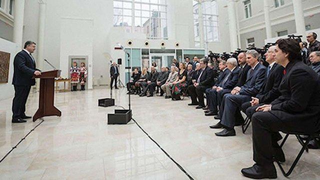 Порошенко реформує Шевченківську премію