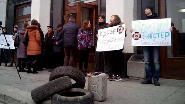 Тернопільська облрада заборонила будівництво міні-ГЕС на Дністрі