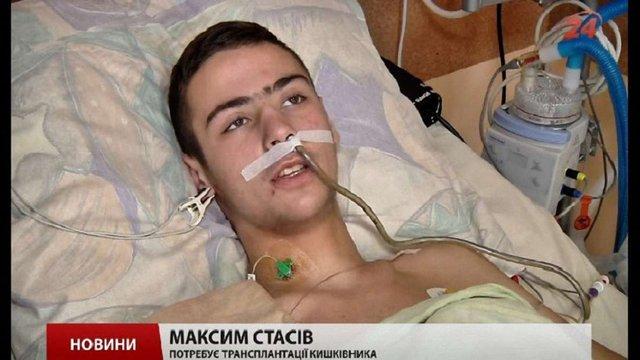 Після першої операції у Індії Максим Стасів почав самостійно їсти