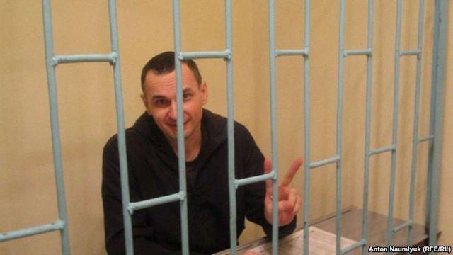 Сенцова внесли до «Реєстру безпеки» в'язнів у Челябінському СІЗО