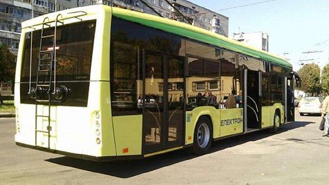 Два нові тролейбуси уже виїхали на львівські вулиці