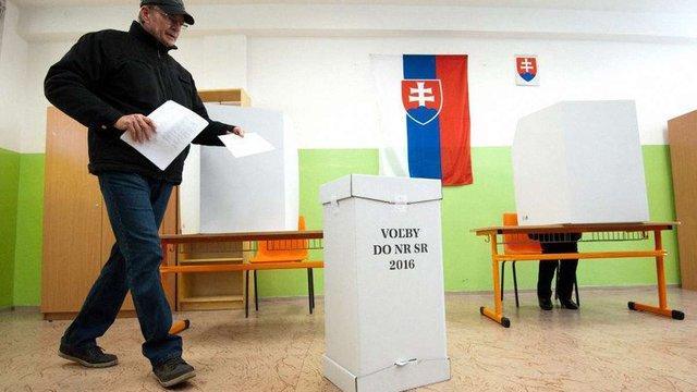На парламентських виборах у Словаччині лідирує партія прем'єра