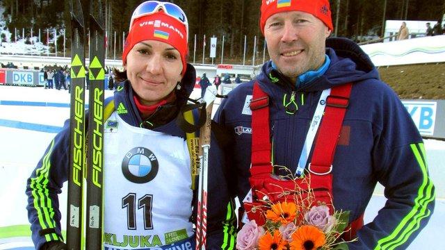 Олена Підгрушна фінішувала п'ятою у гонці переслідування ЧС з біатлону
