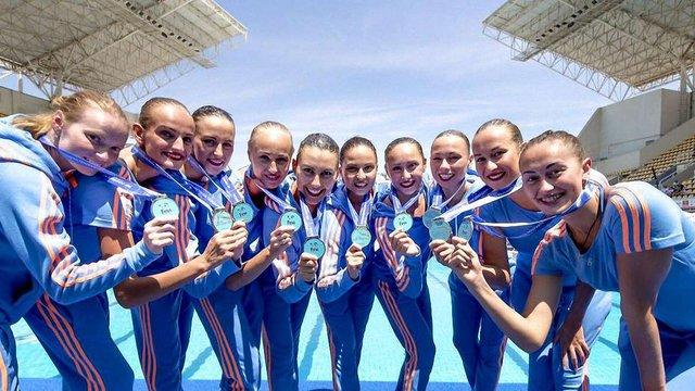 Збірна України зі синхронного плавання виборола путівку на Олімпіаду-2016