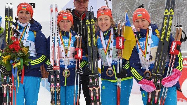 Збірна України з біатлону оголосила склад на індивідуальну гонку чемпіонату світу
