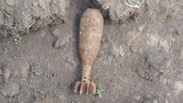За кілометр від аеродрому в Цуневі виявили авіаційну бомбу