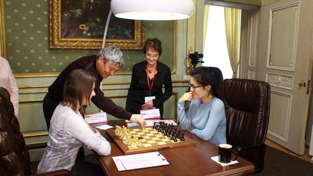 Мірча Луческу відкрив шосту партію чемпіонату світу з шахів у Львові