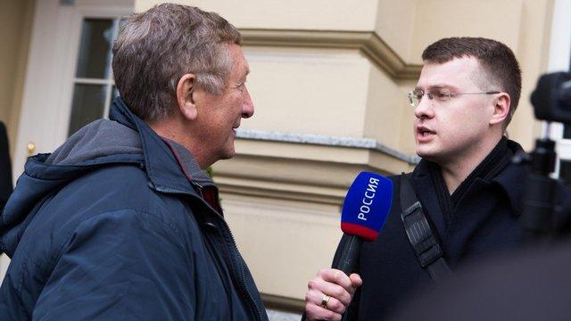З Литви вислали журналістів телеканалу «Росія»