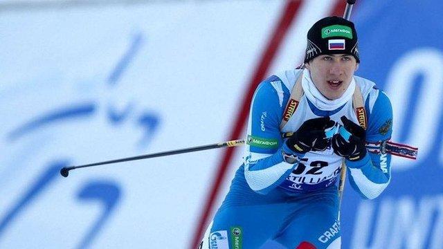 Російський біатлоніст здав позитивну допінг-пробу