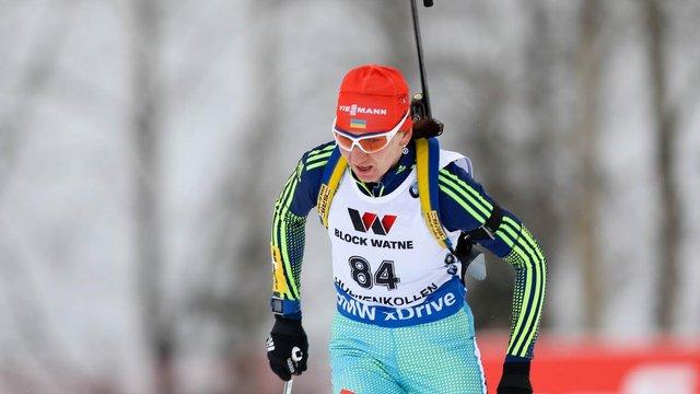 Олена Підгрушна не побіжить останній етап за збірну України у жіночій естафеті ЧС з біатлону
