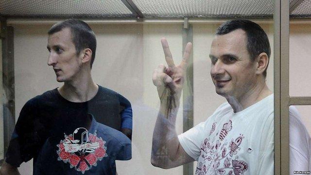 Мін'юст просить РФ повернути в Україну Сенцова та  ще трьох в'язнів