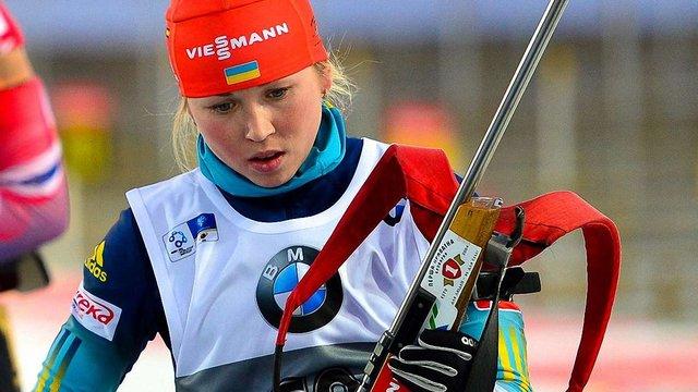 Українська біатлоністка виграла золото Кубка IBU