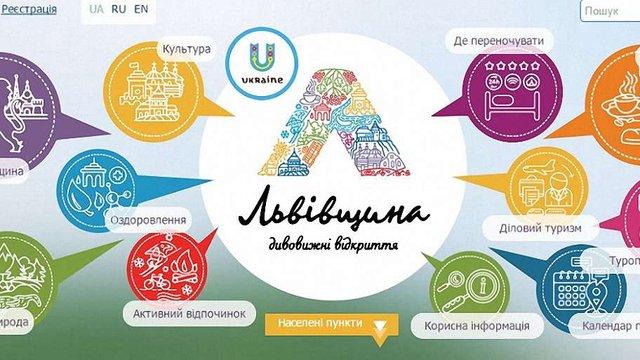 На Львівщині запустили новий туристичний інтернет-портал