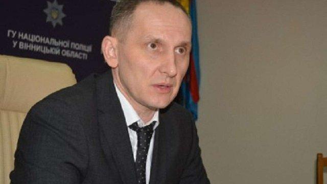 Голову Нацполіції у Вінницькій області відсторонили від посади